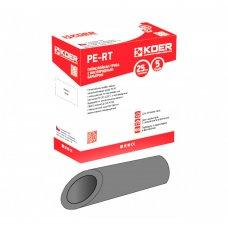 Труба теплый пол Koer PEX-B EVOH 16*2,0 (SILVER) с кислородным барьером