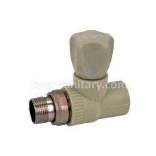 Вентиль ПП Koer радиаторный прямой 25x3/4 K0166