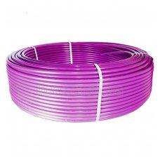 Труба теплый пол Koer PEX-B EVOH 16*2,0 (PINK) с кислородным барьером (600 м/уп)