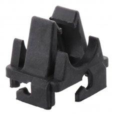 Поворотная клипса KOER KR.8015 на сетку 6-8 мм (чёрная)