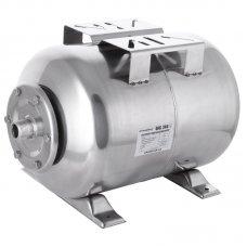 Гідроакумулятор для насосних станцій GRANDFAR GFC24S 24л горизонт., корпус з нерж. стали