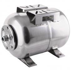 Гидроаккумулятор VODOMET 24л горизонт. корпус-нерж.сталь