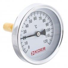 Термометр аксиальный Koer KT.671A 1/2''