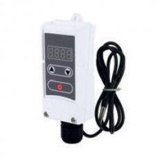Термостат KOER KR.1355E электрический накладной с выносной гильзой +5…+90*C